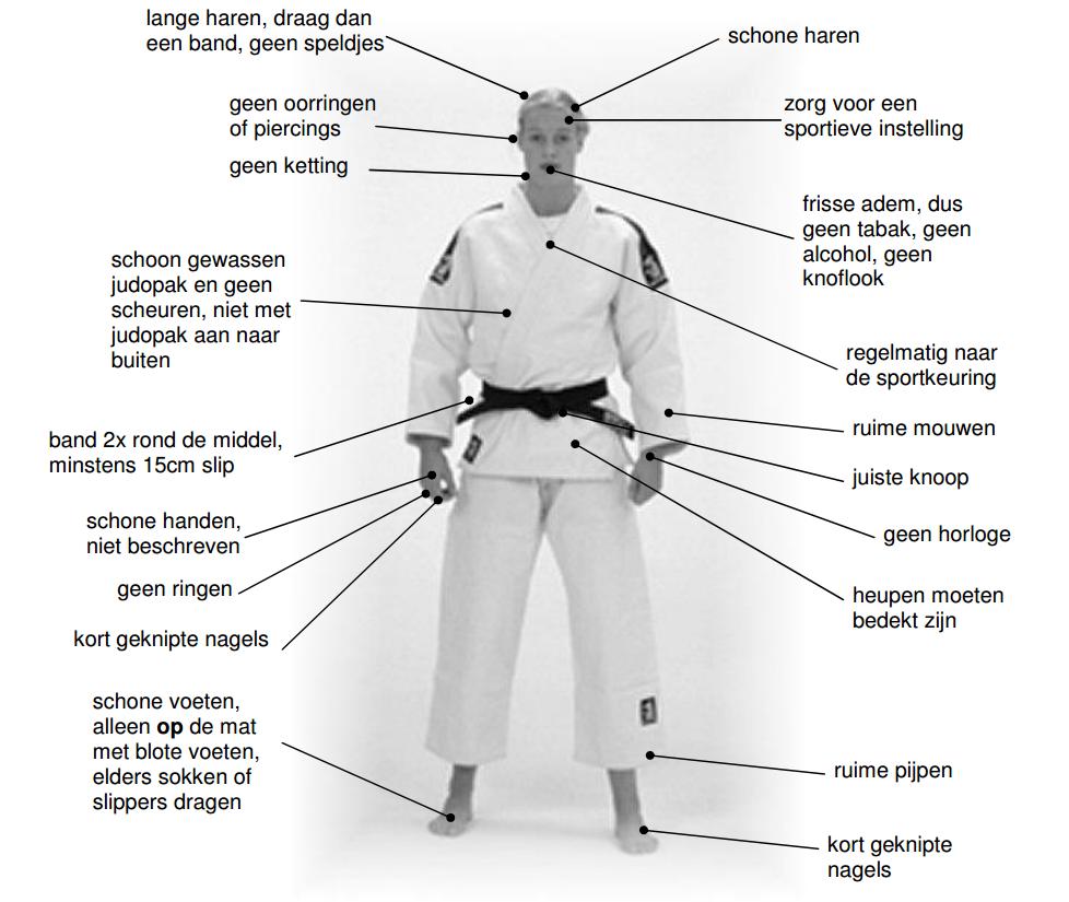 Afbeeldingsresultaat voor judo club regels